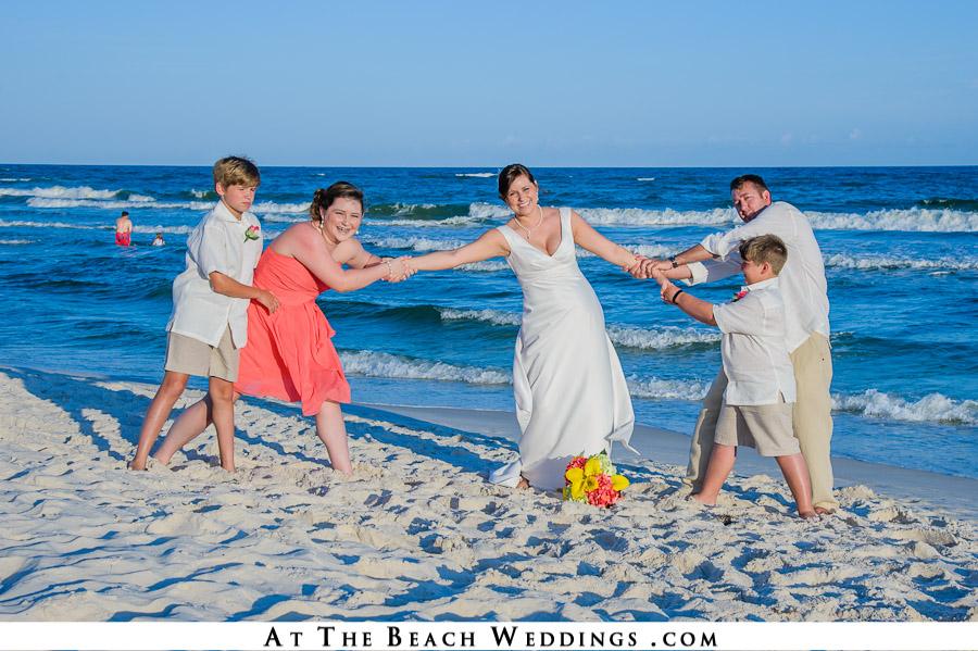 Beach Wedding Photo 28